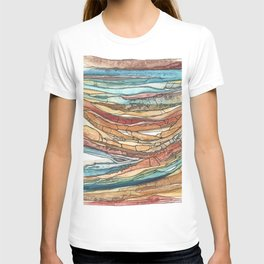 Abstract Sediment T-shirt