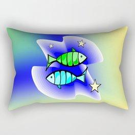 Astrology, fish Rectangular Pillow