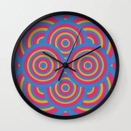 wide eyes&wireframes Wall Clock