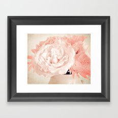 Pink Vanilla  Framed Art Print