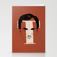 tarantino Stationery Cards featuring T is for Tarantino by Albert Blanchet