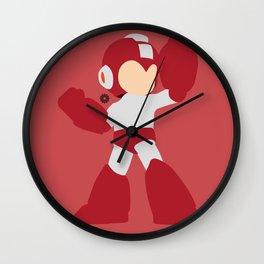 Mega Man(Smash)Red Wall Clock