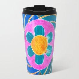Floral Dream Mandala Travel Mug