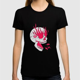 Skull Girl Classic Tattoo T-shirt