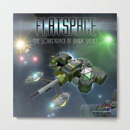 The Flatspace Soundtrack Metal Print