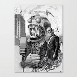 """The Great Speech"" Canvas Print"