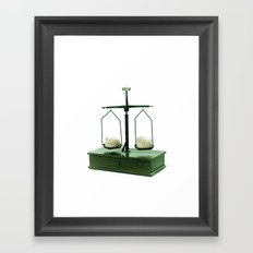 Balança Framed Art Print