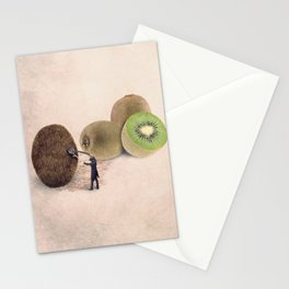 The kiwis hairdresser Stationery Cards