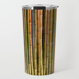 Bamboo fence, texture Travel Mug
