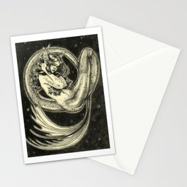 Abyssal Mermaid Stationery Cards