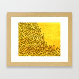 "Zoe, from ""Invisible Cities"" by Italo Calvino Framed Art Print"