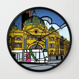 Flinders Street Station Wall Clock