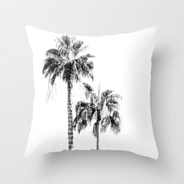 PALM LIGHT Throw Pillow