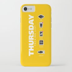 THURSDAY - The Hitchhiker's Guide to the Galaxy Packing List iPhone 7 Slim Case