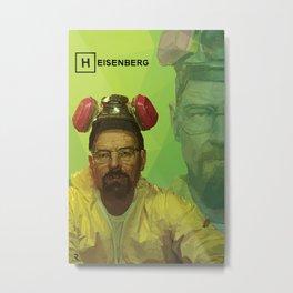 Breaking Bad - Heisenberg - Tv Show Themed Print Metal Print