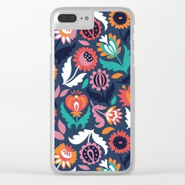 Spring song Clear iPhone Case