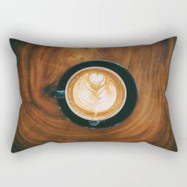 Fall Latte II Rectangular Pillow