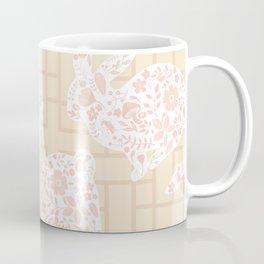 Pastel Rabbits Coffee Mug