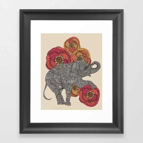 Rosebud Framed Art Print