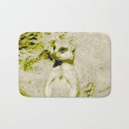 Pop Art Meerkat 1 Bath Mat