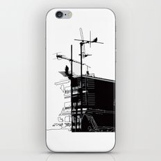French rooftops iPhone & iPod Skin