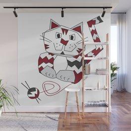 Angus Knits Wall Mural