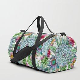 Exotic flower garden Duffle Bag