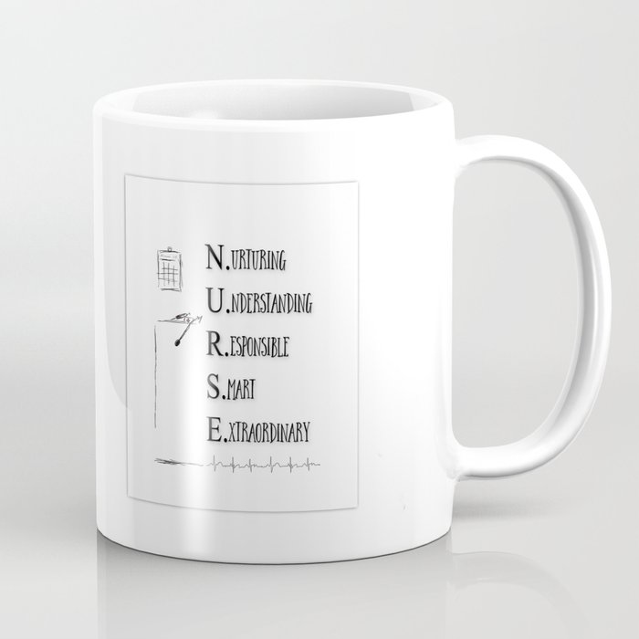 NURSE DEFINED Coffee Mug