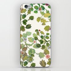water color garden with flowers! ( iPhone Skin