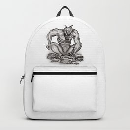 Mix - creature - Troll Devil and Golem Gargoyle Backpack