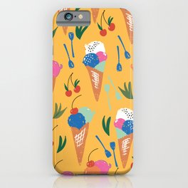 Gelati Dream // Pattern Design // Summer collection iPhone Case