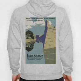 Vintage poster - Fort Marion Hoody