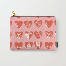 Heart Pups Carry-All Pouch