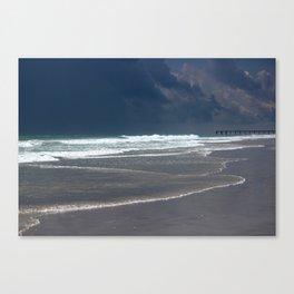 Stormy Evening Canvas Print