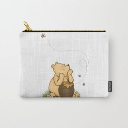 Classic Pooh with Honey - No background Carry-All Pouch