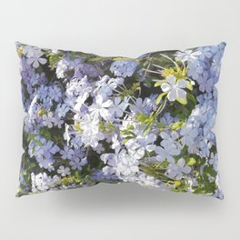a violet flower in the heart of Athens Pillow Sham