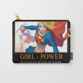 """INK-SPIRATION: """"Girl Power"""" 2 Carry-All Pouch"""
