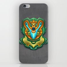 Summer Totem Green iPhone & iPod Skin