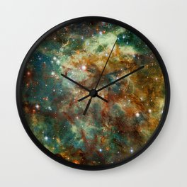 Part of the Tarantula Nebula Wall Clock
