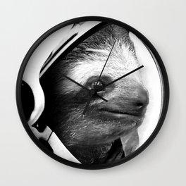 Astronaut Sloth Wall Clock