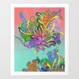 Alien Organisms 17 Art Print