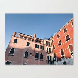 Afternoon Sun / Venice, Italy Canvas Print