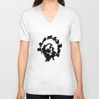 turkey V-neck T-shirts featuring Turkey by ken green art
