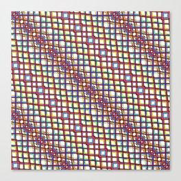 Fish Scale - Mandala Premium Series 004 Canvas Print