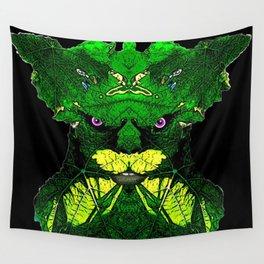 Green Man Wall Tapestry