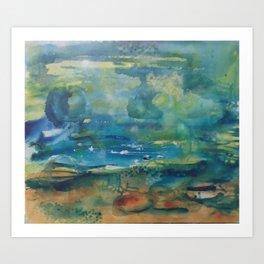 Water, Water, Water Art Print