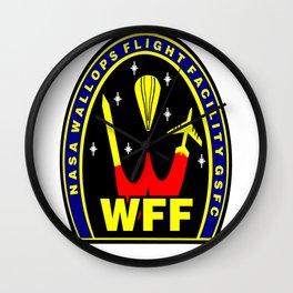 Wallops Flight Facility Wall Clock