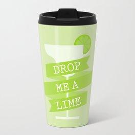 Drop Me A Lime Travel Mug