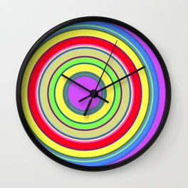 Circle Stripes Art / GFTCircle001 Wall Clock