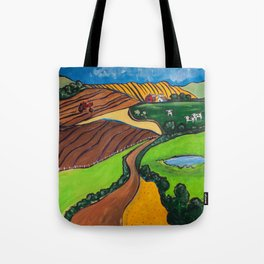 Down a Country Road Tote Bag